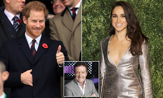 Meghan Markle opens up to PIERS MORGAN about dating and death threats