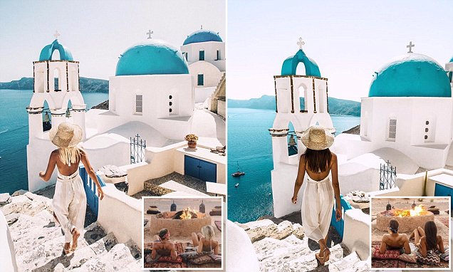 Instagram lifestyle blogger finds copycat following her and taking the SAME images