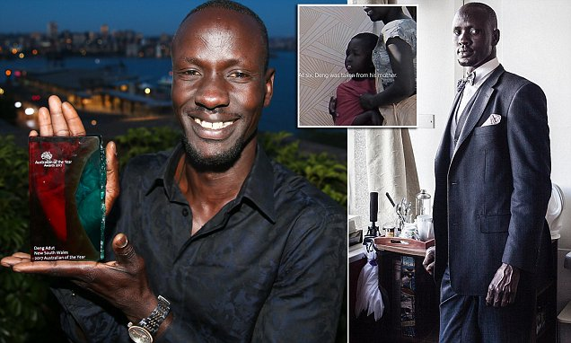 Deng Thiak Adut says The Wiggles helped him learn English in Australia