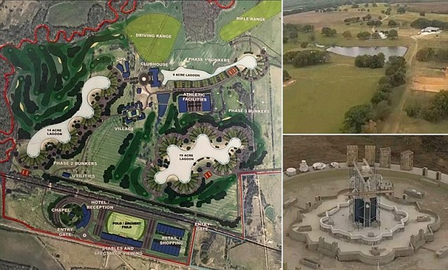 Plans for Trident Lakes Texas doomsday village revealed