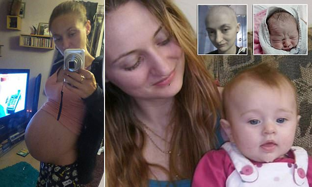 Mother-of-two who thought her cancer had returned discovers she is pregnant