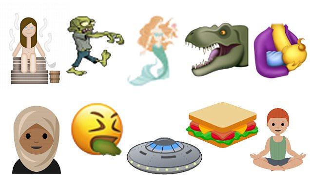 Unicode 10 new emojis include breastfeeding, hijabs and zombies