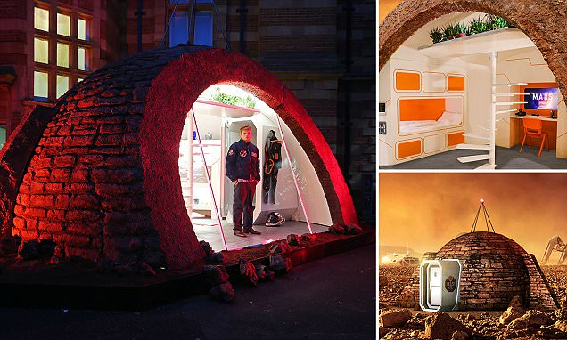 First ever Martian show home reveals what life would be like on the red planet