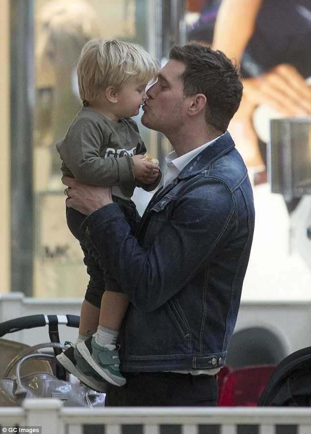 Confirmed:Michael Bublé and Luisana Lopilato's son Noah, 3, has been diagnosed with liver cancer, an Argentina magazine reports