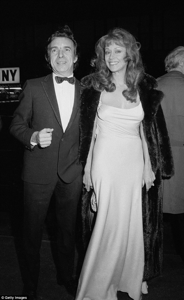 Hollywood beauty: Gregg was seen in this shot with directorArthur Hiller, who was behind the lens of her 1972 movieMan of La Mancha. Hiller died in August at 92