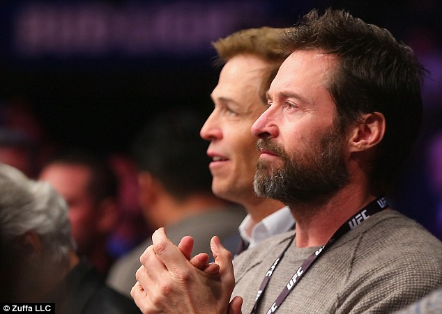 Keeping busy: Hugh confirmed he will play Wolverine for the last time in his upcoming film, Logan 3