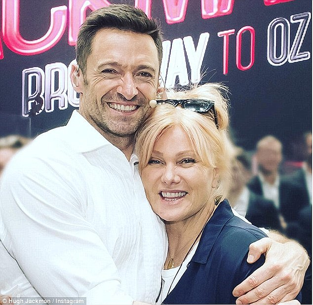 Long-term romance: Hugh and wifeDeborra-Lee Furness seem as smitten as ever after 20 years of marriage