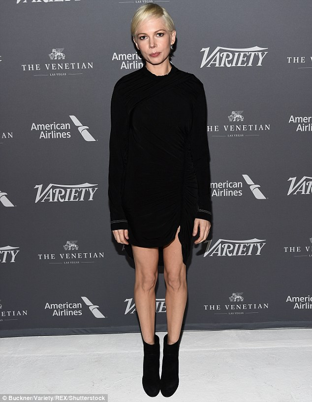 There's always a carpet event: On Saturday, Michelle Williams taped her episode of the forthcoming fifth series of Variety Studio: Actors On Actors