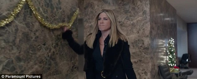 Scrooge: The Emirates Airline ambassador tapped into her inner anger to play Carol Vanstone, the Grinch-like visiting CEO of a massive tech company, in Office Christmas Party