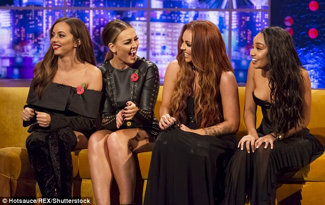 On the promo trail: The singers recently made an appearance on The Jonathan Ross Show
