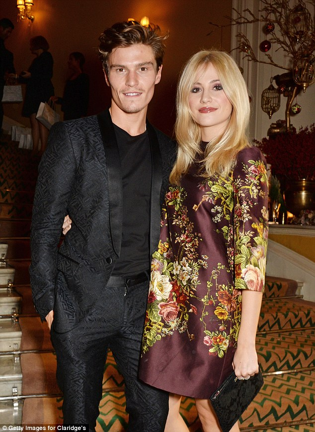 Ringing in a new era: Earlier this year, Pixie said that she'd 'like to think' that she and Oliver were heading to marriage