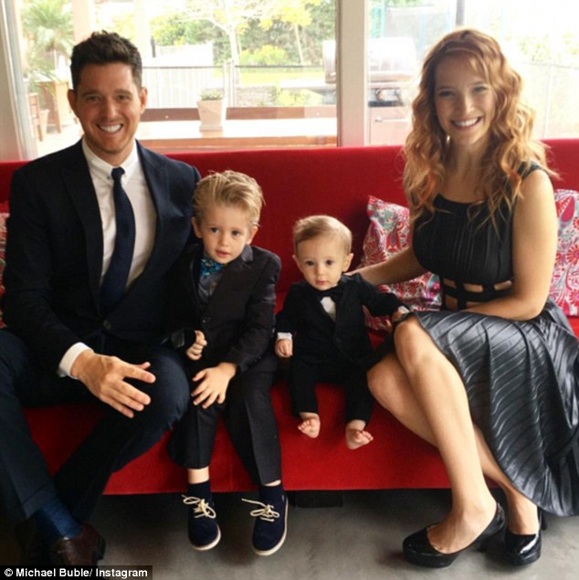 'We are devastated': Michael's eldest son Noah, three, has been diagnosed with cancer