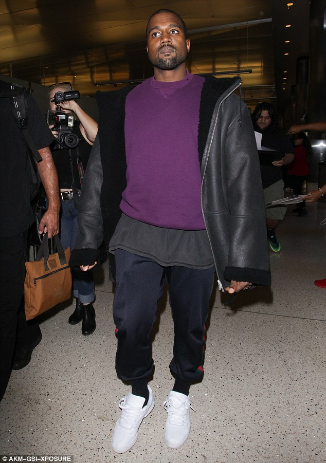 Mum's the word! Kanye West didn't respond when he was asked on Friday at LAX if he still planned on running for president in 2020