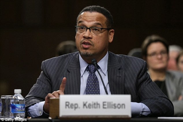 Minnesota Congressman Keith Ellison has not officially announced his candidacy for DNC chair, but heavyweights in the Democratic party were enthusiastic about his leadership