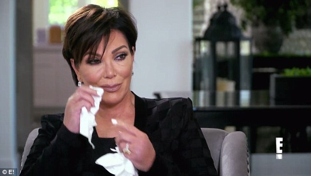 'I don't want to say!' Kris Jenner cries as her mom MJ asks her biggest fear in Keeping Up With The Kardashians