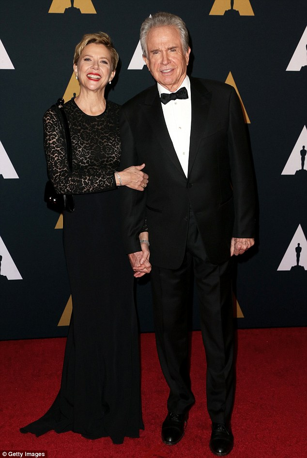 Co-stars: Fellow guests and husband and wife team Warren Beatty and Anette Bening will be very familiar to Lily, whose latest film Rules Don't Apply was written by the former and stars the latter