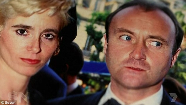 Bitter ending: Phil and Jill divorced in 1996. The severance cost Phil nearly AUD$30million