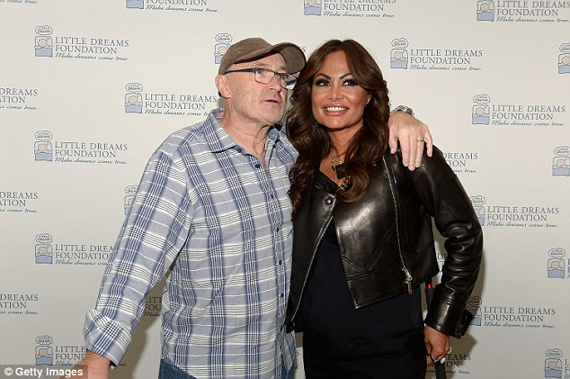 Rekindled: Phil andOrianne recently revealed they are back together after divorcing in 2008