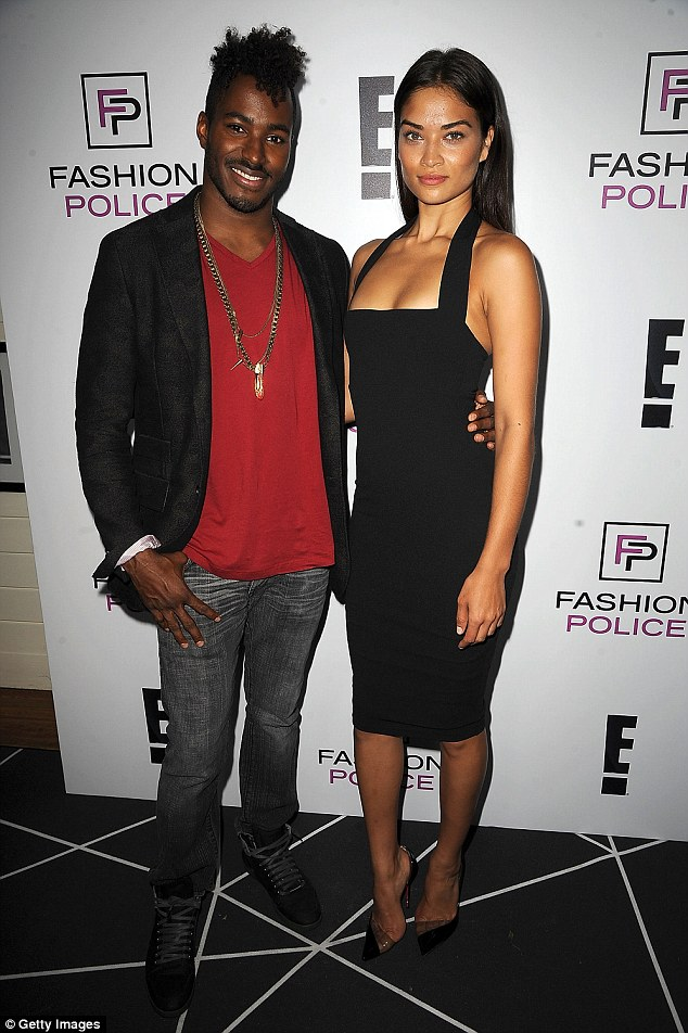 New flame: After dating Tyson for several years, Shanina moved on with DJ Ruckus just months after their 2015 break-up. They got engaged  in January this year
