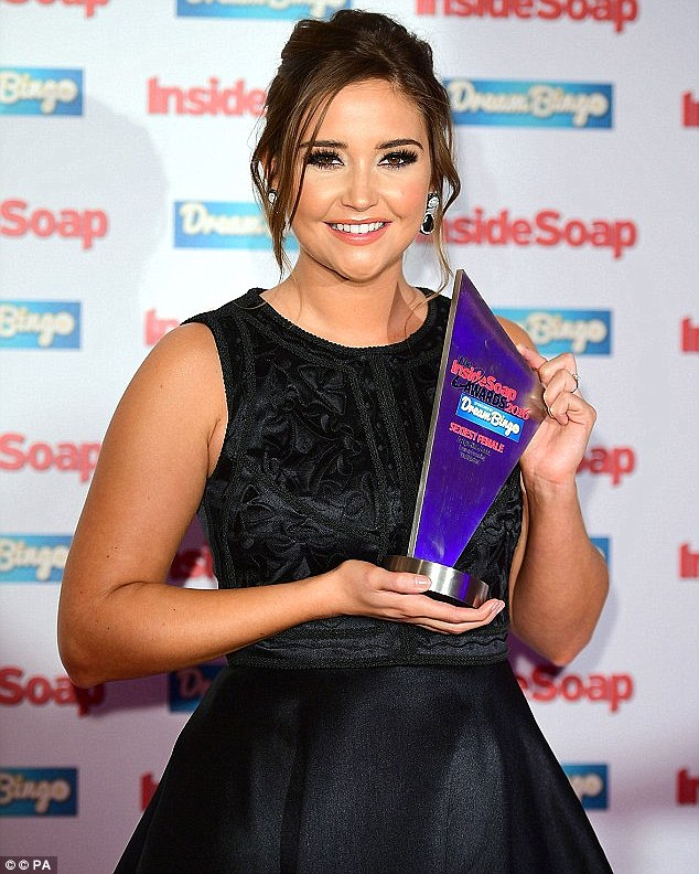 Unwanted attention: Jacqueline Jossa (here last month) has lashed out at trolls who said she looked like she was having baby number two