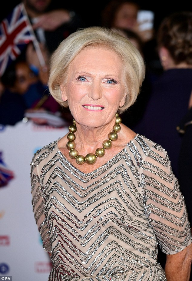 New horizons:Mary Berry, 81, has revealed she is already filming her own cooking show for the BBC called Mary Berry Everyday, which launches in the spring