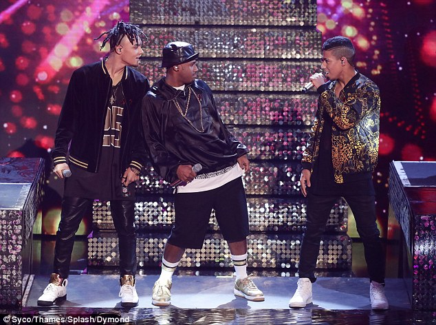 Stand out:The energetic performance, which featured an impressive dance break in-between, had the judges grooving along, resulting in another standing ovation