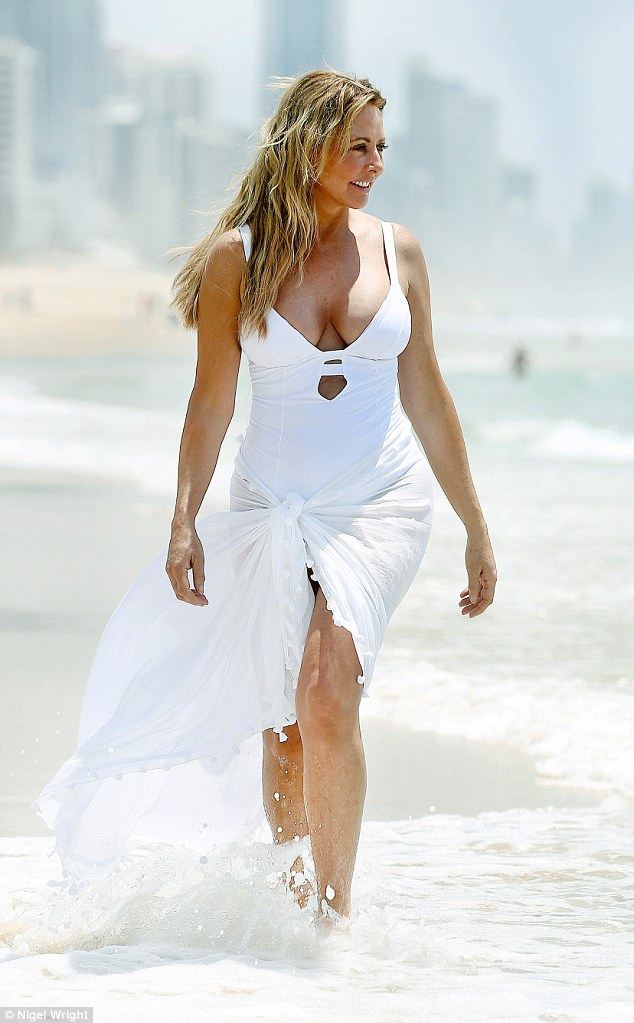 The Countdown begins:Hitting the beach in Queensland on Thursday, Carol Vorderman, 55, gave viewers a glimpse of what they can expect when I'm A Celebrity returns on Sunday