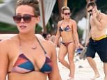 Exclusive... 52229458 Actress Hilary Duff enjoyed a getaway with her new boyfriend, fitness trainer Jason Walsh, in Puerto Vallarta, Mexico on November 11, 2016. Both Duff and her new beau showed off their tone shapes as they spent the day hanging out at the beach. FameFlynet, Inc - Beverly Hills, CA, USA - +1 (310) 505-9876