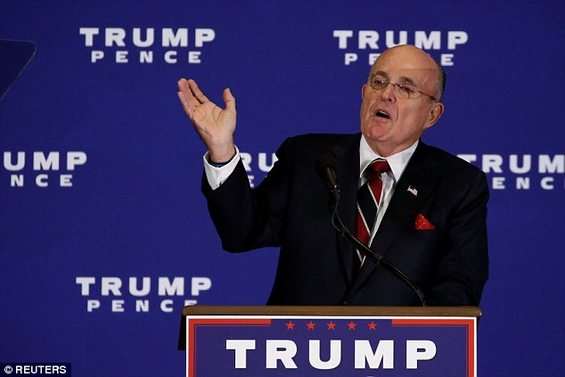 """Former New York City Mayor Rudy Giuliani spoke to Trump's Gettysburg crowd: 'I don't know if I could call government, right now, """"of the people, by the people and for the people""""'"""