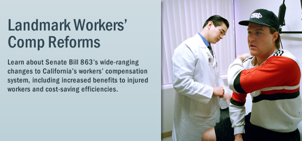 Workers' compenstation reform