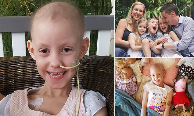 Little girl diagnosed with cancer after persistent gastro and fevers