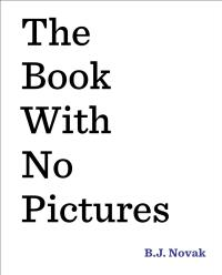 BJNovak-Book with No Pictures