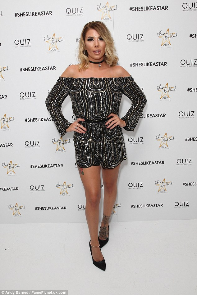 It's my party: Olivia Bucklandcelebrated her clothing line launch on Wednesday evening with a star-studded party at Vanilla in London