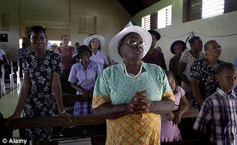 A pastor in Jamaica said his congregants get 'so excited' when they hear him preach from the Gospel of Luke in their spoken language (file picture)