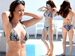 ***** NOTE TO PICTURE DESK - MIN USAGE FEE OF £200 FOR ONLINE PIC FROM FORTITUDE PRESS (PIC SHOWS: EX ON THE BEACH STAR JESS IMPIAZZI STRUGGLING TO COVER UP AS SHE SUNBATHES TOPLESS) Ex on the Beach star Jess Impiazzi, who recently got engaged to Samoan Rugby star, Denny Solomona, wil be breaking a lot of hearts, as she is officially taken. The reality TV star, who isn't afraid to show off her curves was snapped on a recently holiday in Australia. Jess struggled to keep her ample assets under control ias she sunbathed topless and then tried to adjust her position, while trying to cover up.