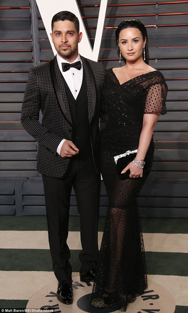 A lover, not a fighter: The young starlet dazzled at a Vanity Fair Oscars bash this year with longtime boyfriendWilmer Valderrama, whose past loves include Mandy Moore, Mila Kunis, Lindsay Lohan and Minka Kelly