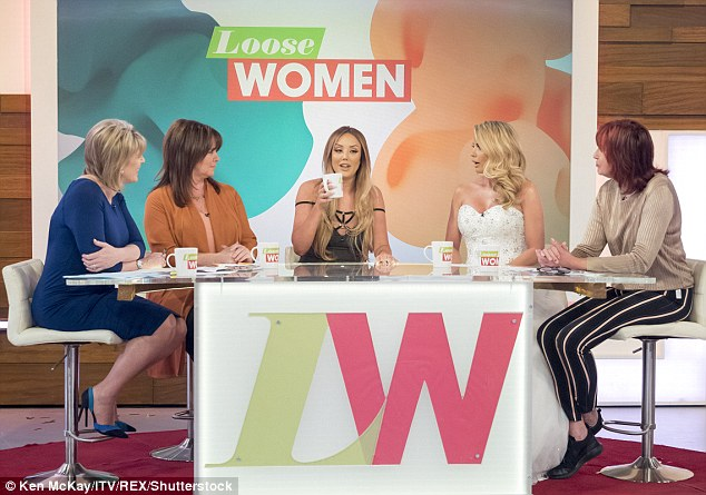Return to the panel: The mother-of-five, 38, announced she would be back on the panel on December 2nd