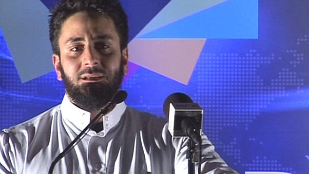 Hardline Islam groups, have posted invitations on social media sites and at university campuses to public talks in an 'unprecedented scale', according to Sharia Watch UK. Activist Hamza Tzortzis is named in the report