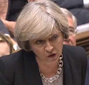 Theresa May (pictured at PMQs yesterday) has already jettisoned a slew of policies from the David Cameron era