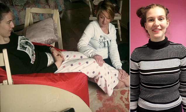 Doctors left baffled over Alicia Goss' uncontrollable shaking which left her unable to