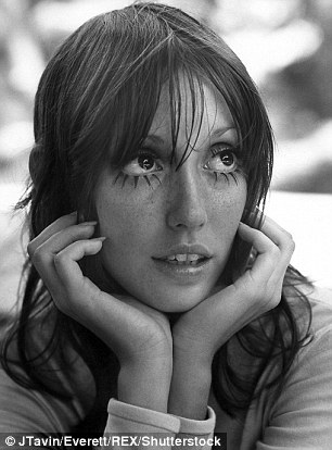Windows to the soul: Shelley (seen here in 1970) was known for her doe eyes and waif figure in the late Seventies and Eighties but has been living as a recluse for over a decade