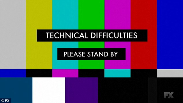 Technical difficulties: The live broadcast was interrupted by the gunman