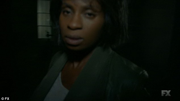 Surprise appearance: Lee shocked the Spirit Chasers when they found her at the Roanoke house