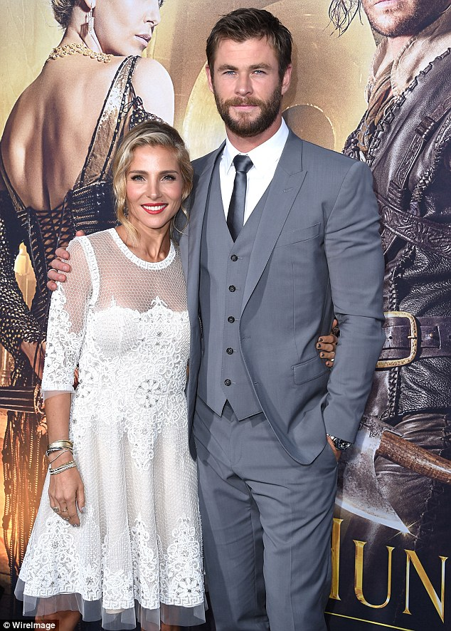 Starting anew: In September 2014, She and her Thor actor husband Chris decided to abandon their California digs and splash out on a $7.2 million property in Byron Bay
