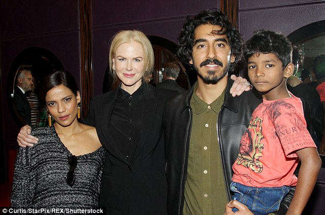 Cast chat: Priyanka and Nicole joined Dev Patel and Sunny Pawar at the Q&A event