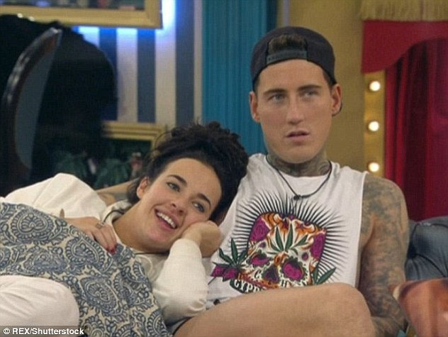 The beginning: Jeremy and Stephanie first met on Celebrity Big Brother at the start of the year and became embroiled in a dramatic four month on/off relationship