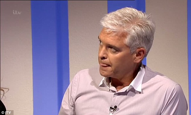 Horror: Katie's terrible tale left both Willoughby and Schofield looking visibly saddened at times