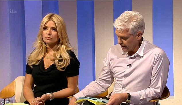 Memoir: Katie has since written a book about her experiences which was referred to by Schofield during the show