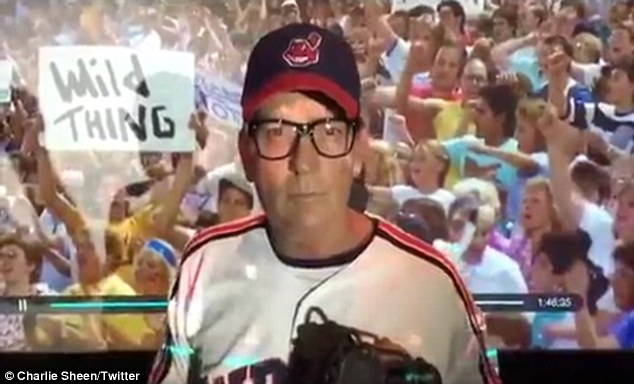 'Get me Vaughn' The actor revived his Major League (1989) character Ricky 'Wild Thing' Vaughn in the video, later chatting with THR about his efforts toward making Major League 3
