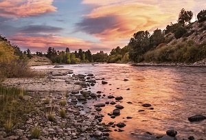 Landscape of Browns Canyon National Monument in Colorado. Photo by Bob Wick, BLM